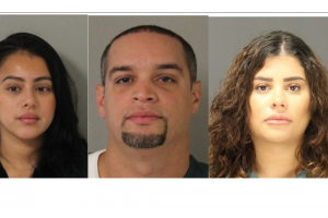 Olvy Torres, Melissa Coda and Yesenia Suriel - Money Laundering - Photo HCPO